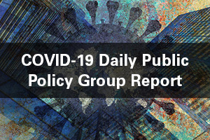 COVID-19 daily public policy group report